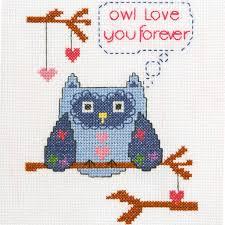 bucilla my 1st stitch counted cross stitch kits owl