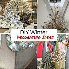 DIY Winter Decorating Ideas