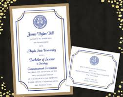 college graduation invitations qty 25 college graduation invitations announcements