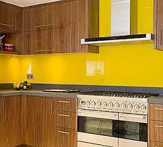 colored glass backsplash kitchen back painted glass on walls commercial interior design