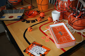 Basketball Centerpieces Perusing Pinterest March Madness Treats And Ideas Hoboken