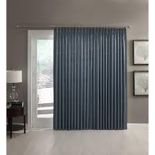 pinch pleat curtains for patio doors a l ellis dover pinch pleat thermal insulated patio panel