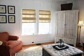 Easy Upholstery Interior Diy Easy Roman Shades Under Glass Window Iron Chairs And