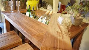 Garden Bar Table And Stools Teak Garden Bar Table Stools In For The Garden