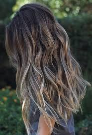 brown haircolor for 50 grey dark brown hair over 50 50 balayage hair color ideas herinterest com