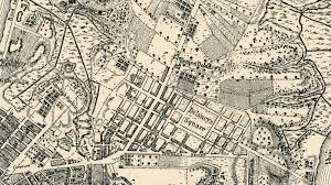 Boston Map 1770 by A Walking Tour Of 1767 New York Curbed Ny
