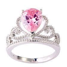 silver pink rings images Crown 2 5 ct pink topaz sterling silver ring nadine jardin jpg