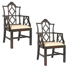 Chinese Chippendale Dining Chairs Design Toscano Chinese Chippendale Armchair U0026 Reviews Wayfair