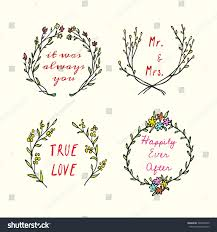 wedding quotes n pics vector wedding invitation graphics stock vector