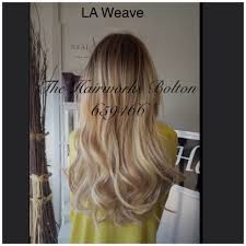 la weave hair extensions la weave micro link weft hair extension 3 rows of 18 beauty works