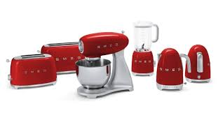 Red Kettle And Toaster Relive The Space Age With Smeg U0027s New Retro Appliances Reviewed