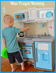 Step Two Play Kitchen by Step2 Dishin U0027 Up Delights Kitchen Review U2013 Miss Frugal Mommy