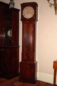 antique regulator clock by gowland c 1800 a