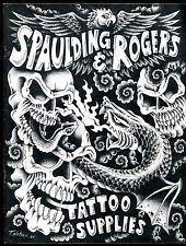 spaulding tattoo ebay