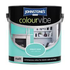 johnstone u0027s paint colour vibe matt miami mint 2 5l painting