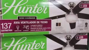Hunter 54 Ceiling Fan by Hunter Avia Ceiling Fan At Costco Youtube