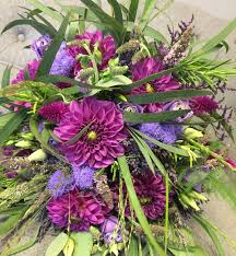 beautiful wild country garden style wedding bouquet including