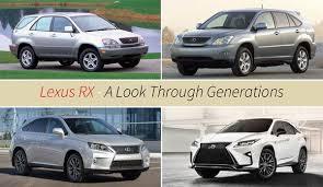 lexus generations lexus rx generations top speed