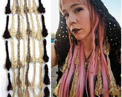 lox hair extensions synthetic dreadlock extensions and hair accessories by iconiclocks