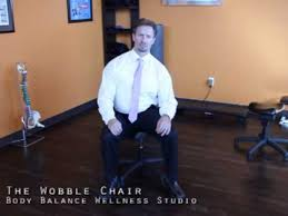 the wobble chair youtube