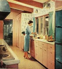 Better Homes And Gardens Kitchen Ideas 595 Best Retro Kitchens Images On Pinterest Retro Kitchens