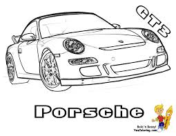 sports cars drawings gusto car coloring pages cars porsche corvette free coloring 3