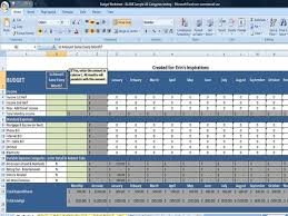Excel Spreadsheet For Monthly Expenses Monthly Budget Spreadsheet Home Finance Management Excel