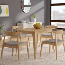 mid century dining room furniture mid century modern kitchen dining room sets you ll love wayfair