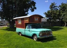 modified gypsy this 1966 ford f100 gypsy camper house truck has been renovated