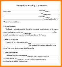 partnership agreement template free download sample partnership