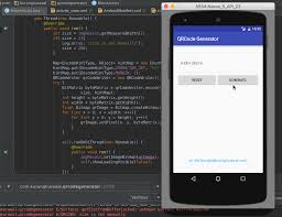 android screencast github konglie android qrcode generator demo android qr code