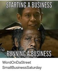 Meme Running - starting a business running a business wordondastreet