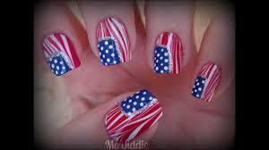 american flag nail art youtube nail toenail designs art