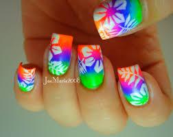 tropical gel nail designs sbbb info