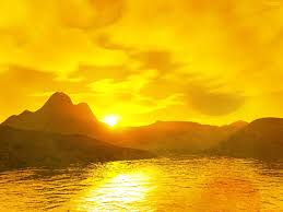 yellow things yellow sunset the free hd wallpaper color