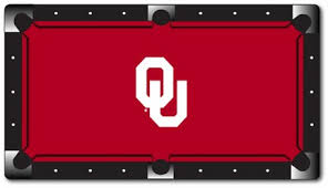 Pool Tables Okc University Of Oklahoma Ou Pool Table Light University Pool Table