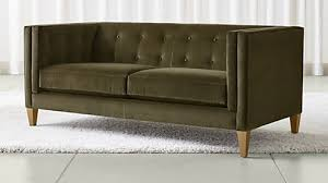 How To Clean Velvet Upholstery Sofas Couches And Loveseats Crate And Barrel