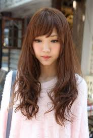 long hairstyle for asian women with side bangs 1000 images about