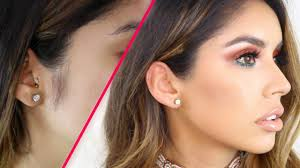 beautiful women hairstyle with sideburns how to remove female sideburns facial hair youtube