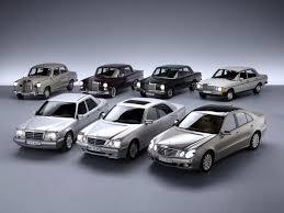 history of the mercedes mercedes e klass models
