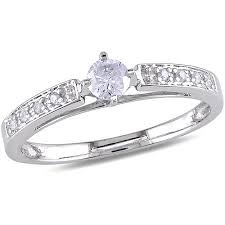 1 4 carat engagement ring 1 4 carat t w engagement ring in 10kt white gold