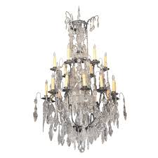 Bronze And Crystal Chandeliers Period Louis Xiv Bronze And Crystal Chandelier Kevin Stone