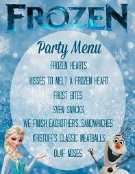 best 25 frozen party menu ideas on pinterest frozen party olaf