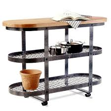 Images Of Kitchen Island Amazon Com Enclume Short Gourmet Bakers Rack Island Home U0026 Kitchen
