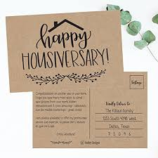 real estate new years cards 25 kraft happy home anniversary realtor cards blank greeting