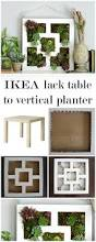 ikea planters craftberry bush ikea lack table hack to succulent vertical