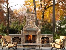 Outdoor Fire Places by Nothing Like An Outdoor Stone Fireplace Someday Home Delights