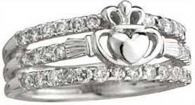 Claddagh Wedding Ring by Exclusive Irish Wedding Bands And Celtic Wedding Rings A Bit O