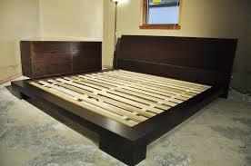 King Platform Bed Frame Crate Barrel Contemporary Bedroom Set Dresser And King