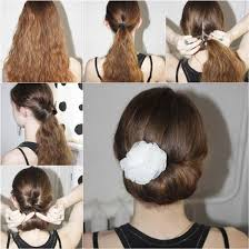 juda hairstyle steps how to diy easy and elegant bun hairstyle